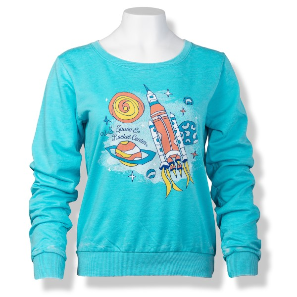 Ramblin' Space Crewneck Pullover,S16775/308J