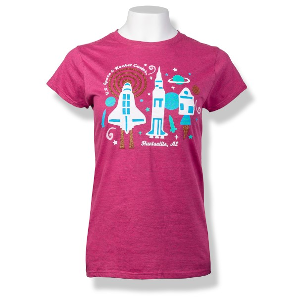 Mod Rockets Jrs Cap Sleeve T-Shirt,NOT ROCKET SCIENCE,S16776/238J