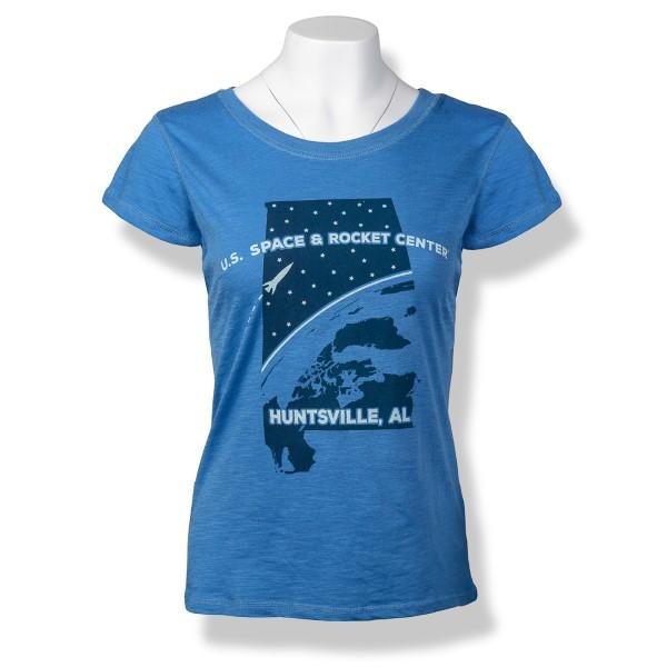 Stargaze Ladies T-Shirt,ROCKET CENTER,S131871/85026/7492