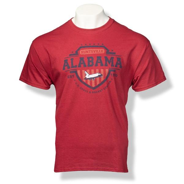 Americana Shield T-Shirt,ROCKET CENTER,S131754/39995/5000