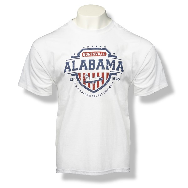 Americana Shield T-Shirt,ROCKET CENTER,S131754/39995/5000