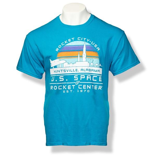 Rocket City Sunset T-Shirt,ROCKET CITY USA,S131846/131846/5000