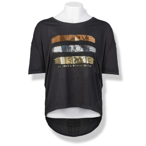 Young, Wild, & Free Women's Freedom Drop Shoulder T-Shirt,S137168/7479/36PVL