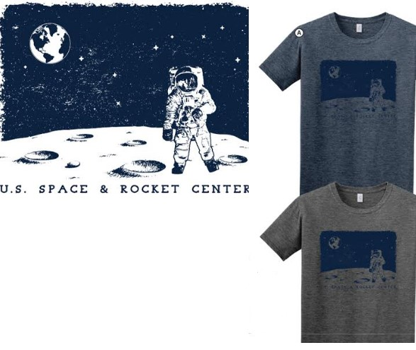 Night Scape Astronaut Euro-Fit T-Shirt,S131839/7368/64000