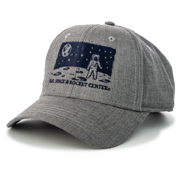 Night Scape Astronaut Melange Twill Cap,S131839/7368/PH182