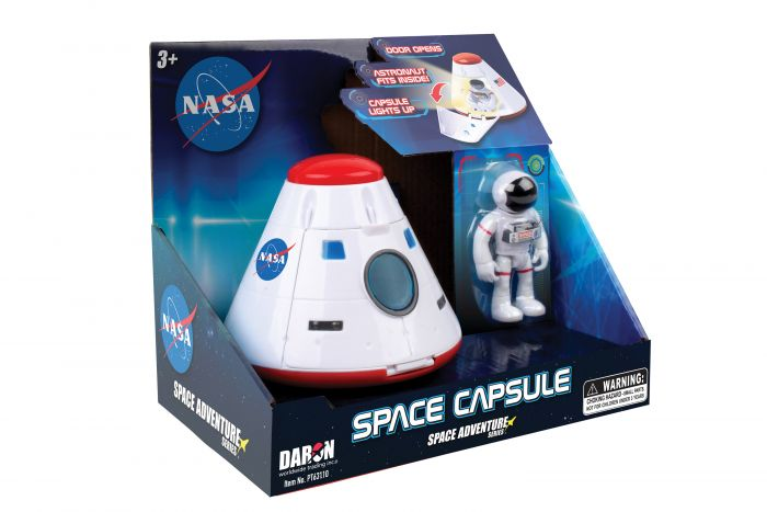 Space Capsule w/Figure,Case Pack 12,PT63110