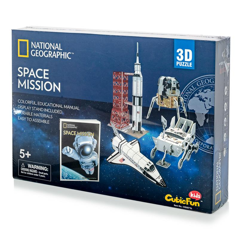Space Mission w/Booklet 80pc,Case Pack 48,CFDS0971H