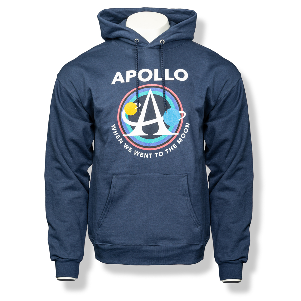 Apollo Logo Pullover Hoodie,S141374/18500