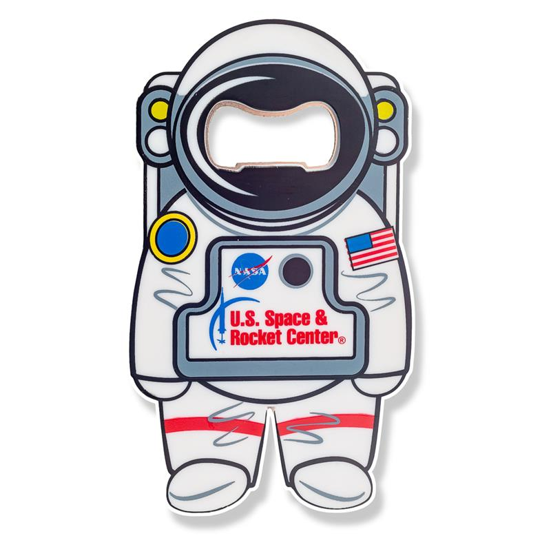 Rocket Center Astronaut Bottle Opener & Magnet,BBITE-CUST
