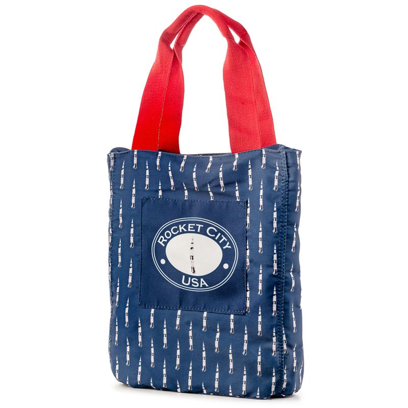 Saturn V Canvas Tote,BB059-CUS
