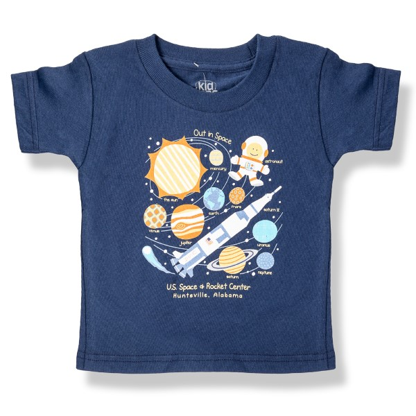Out in Space Collage T-Shirt,8462