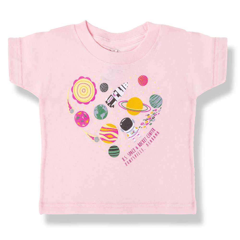 Space Heart T-Shirt,8463