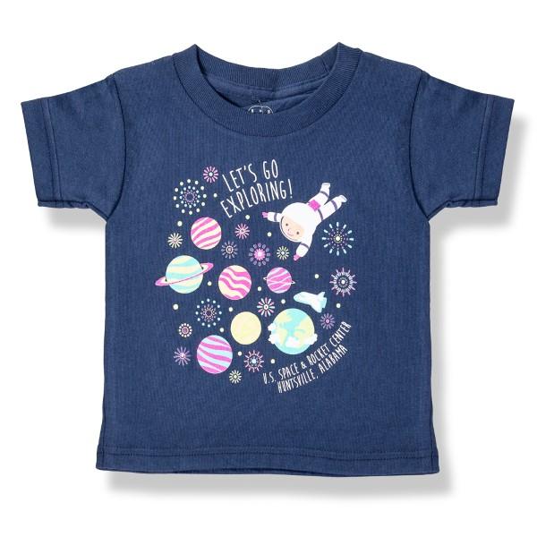Exploring Astronaut T-Shirt,8464