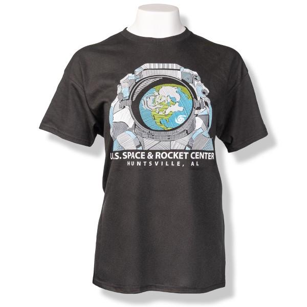 Cross Hatch Astronaut T-Shirt,9497