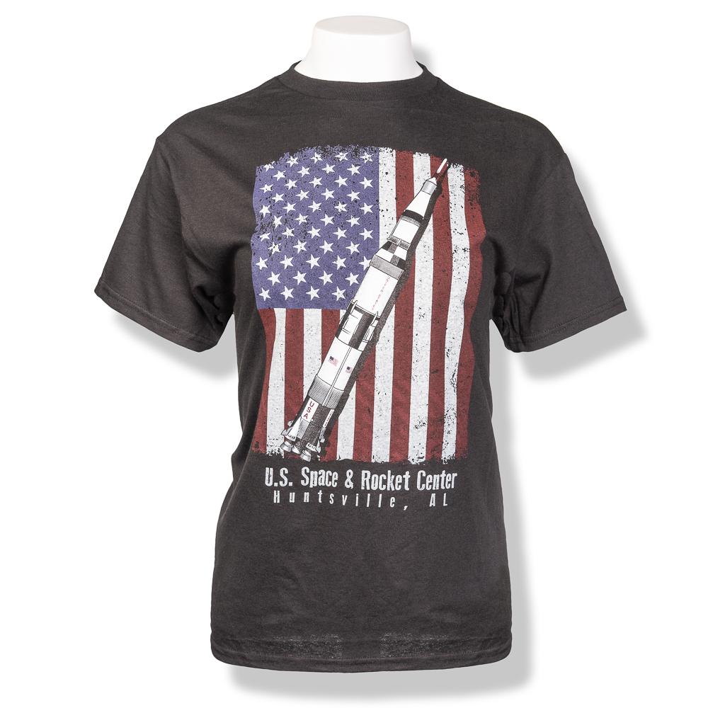 Merica Saturn V T-Shirt,7903