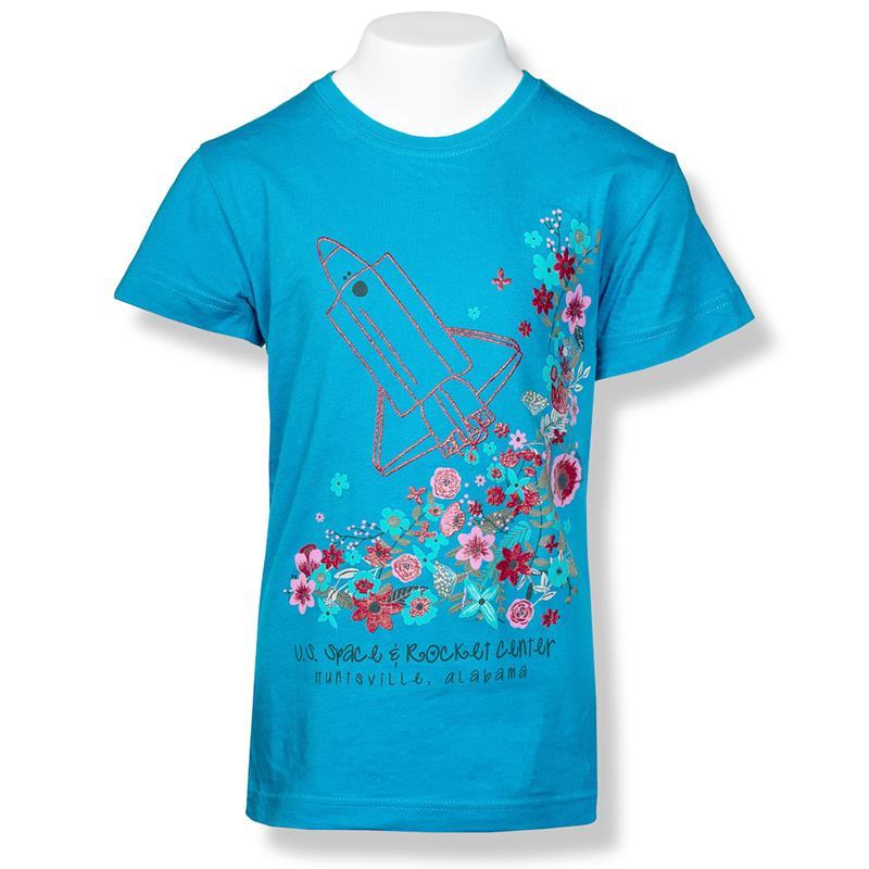 Shuttle Launch Girls Fashion T-Shirt,7904