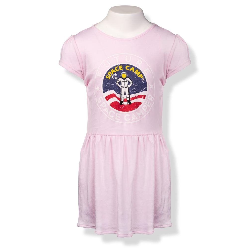 Future Space Camper Ribbed Dress,7912
