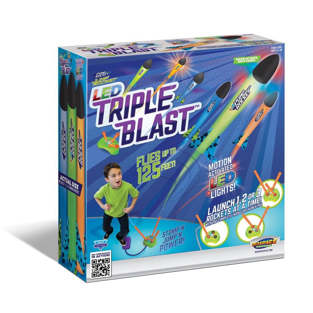 Jump Rocket LED Triple Blast,12982