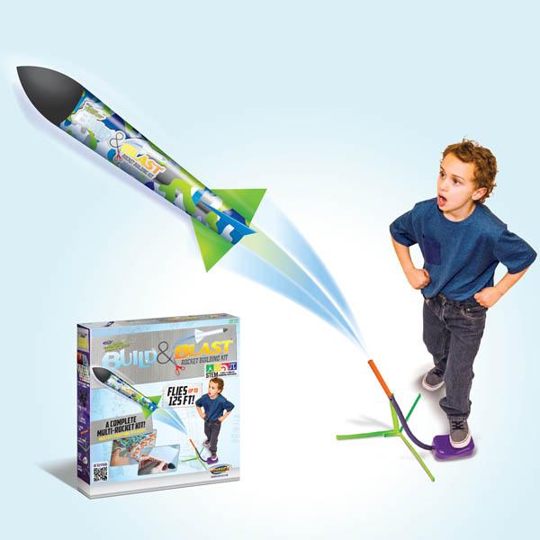 Jump Rocket Build N Blast,12981