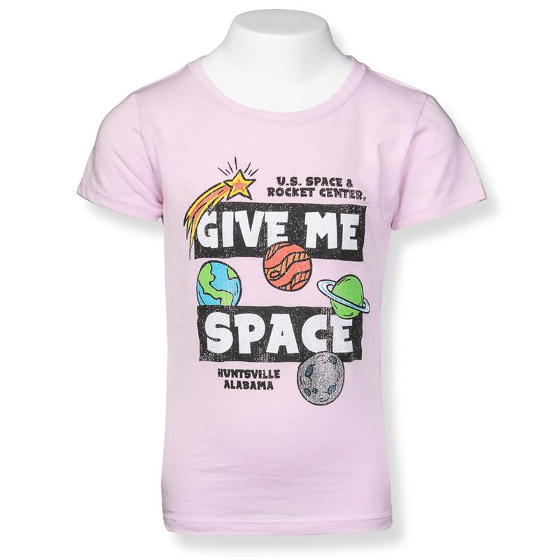 Give Me Space Youth Girls Tee,22289