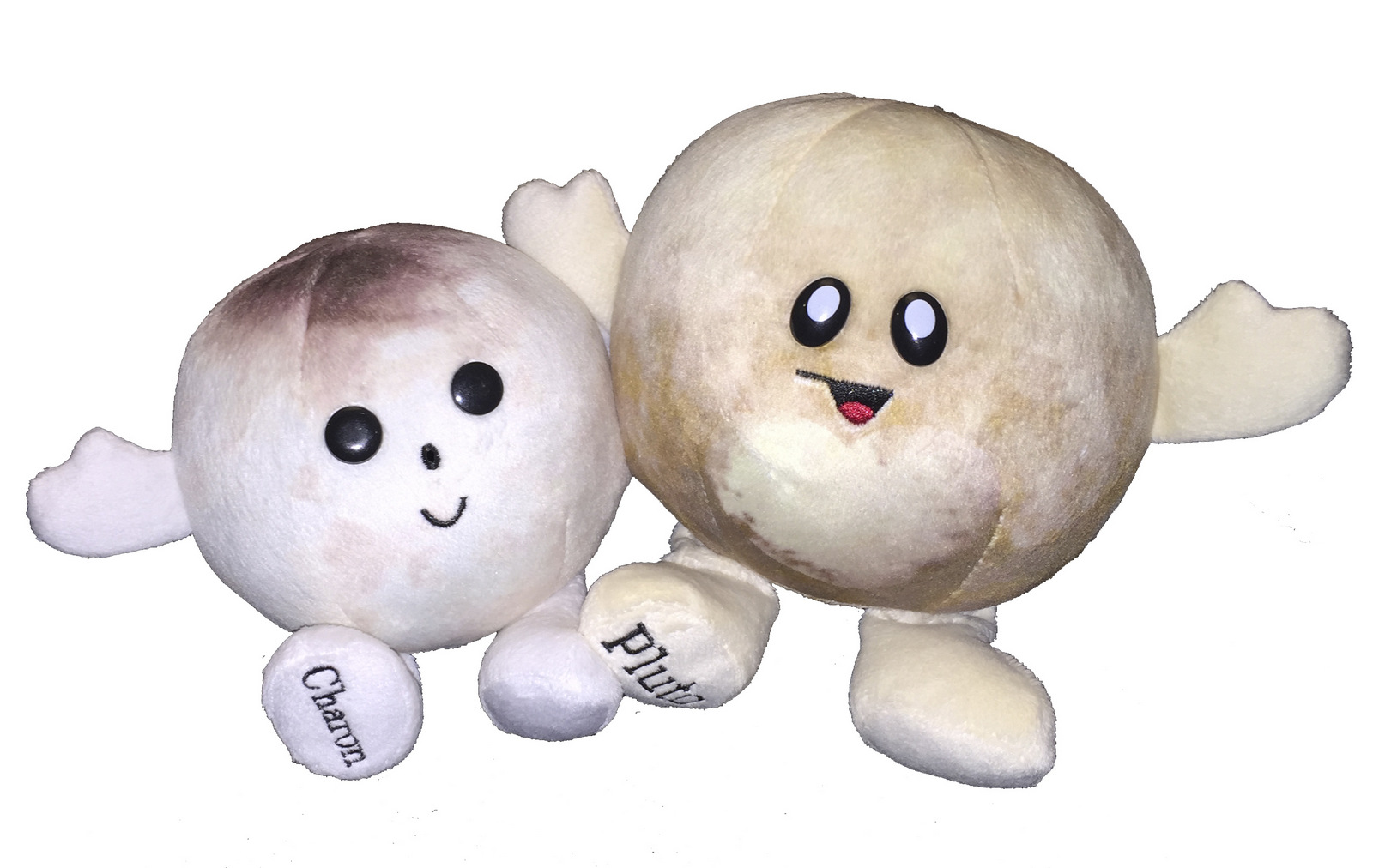 Plush Pluto Buddy (w/ Charon),748252135193