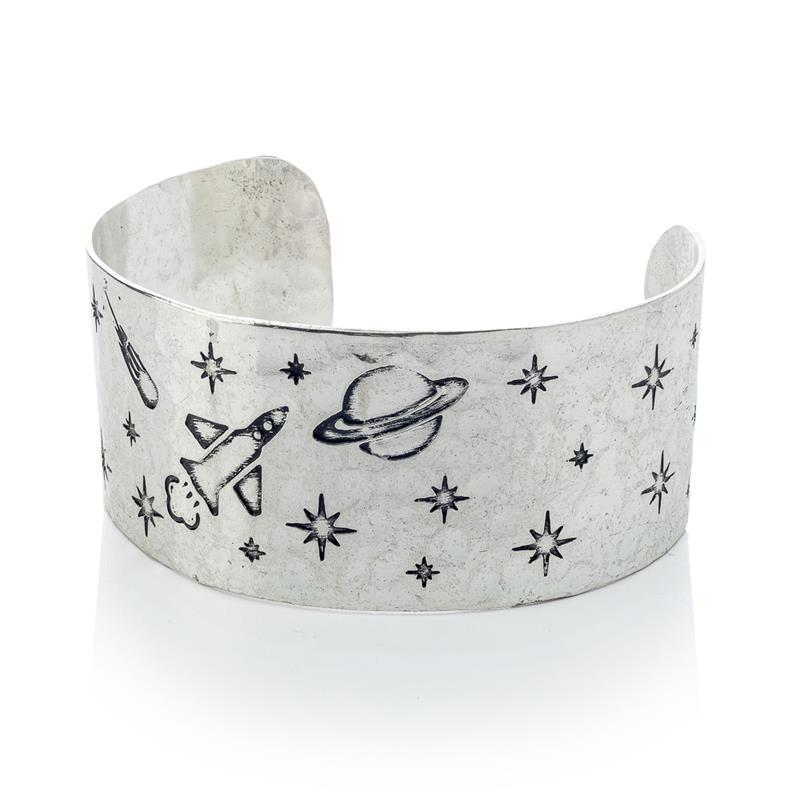 Custom Silver Cuff Bracelet,B490-50