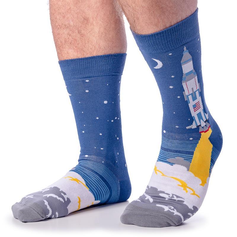 3,2,1 Lift Off Socks - Men's Crew,MEF 0280
