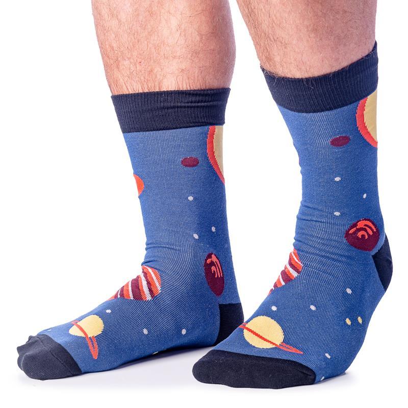Planets Socks - Mens Crew,MEF 0136