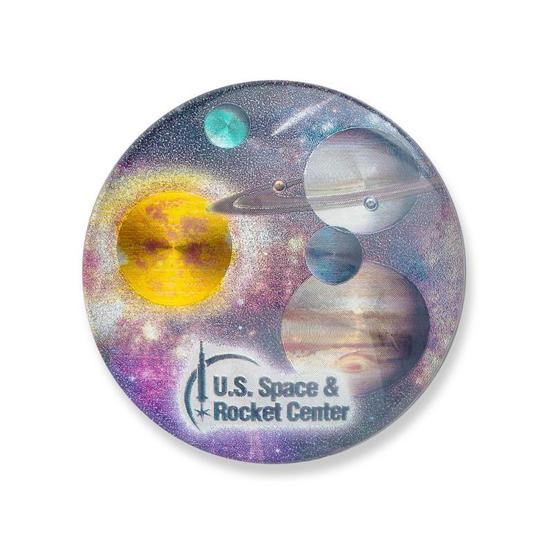 Solar System Glass Magnet,08/9458