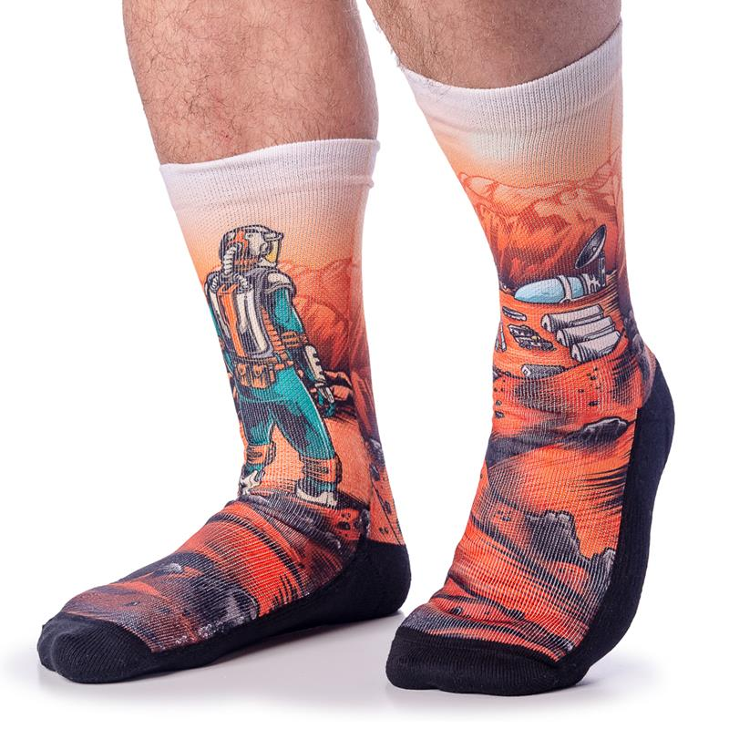 Mars Colony Socks
