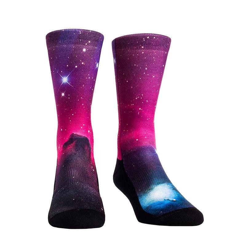 Purple Nebula Galaxy Socks