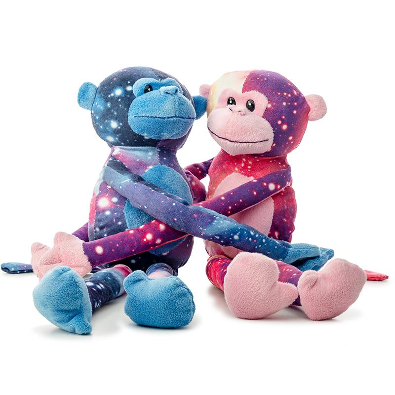 Monkey with Galaxy Print 18in,A59908