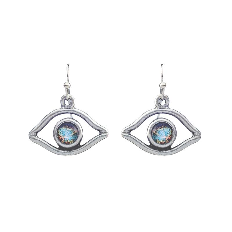 Eye of God Galaxy Earrings,EYEDE