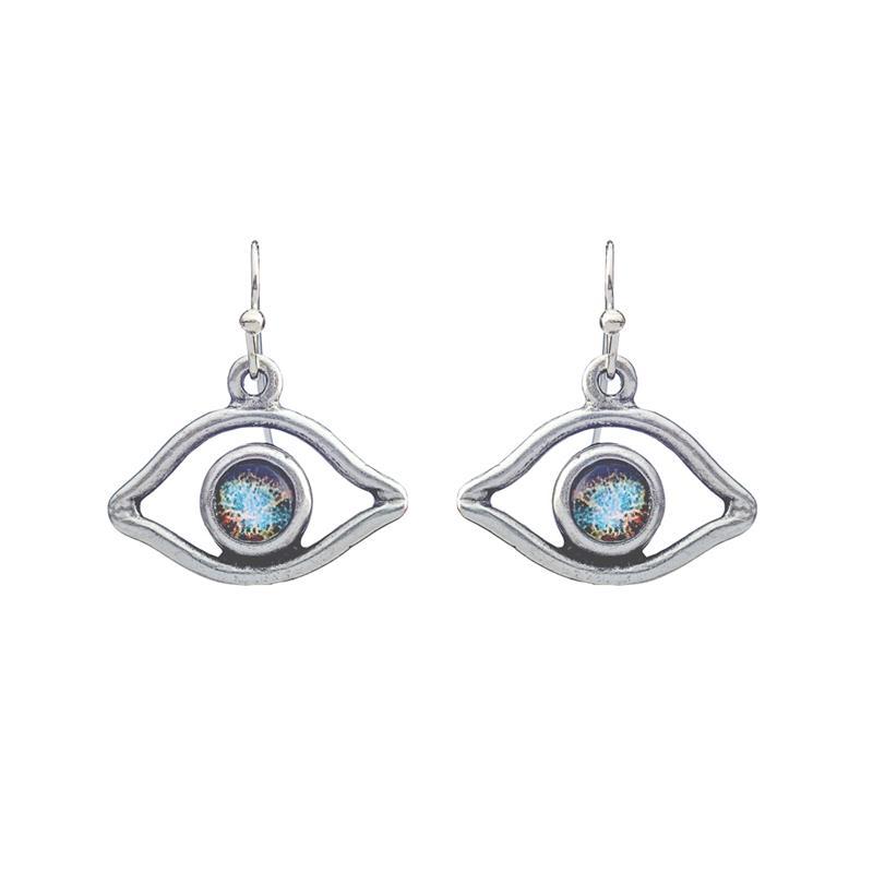 Eye of God Galaxy Earrings,EYEDE
