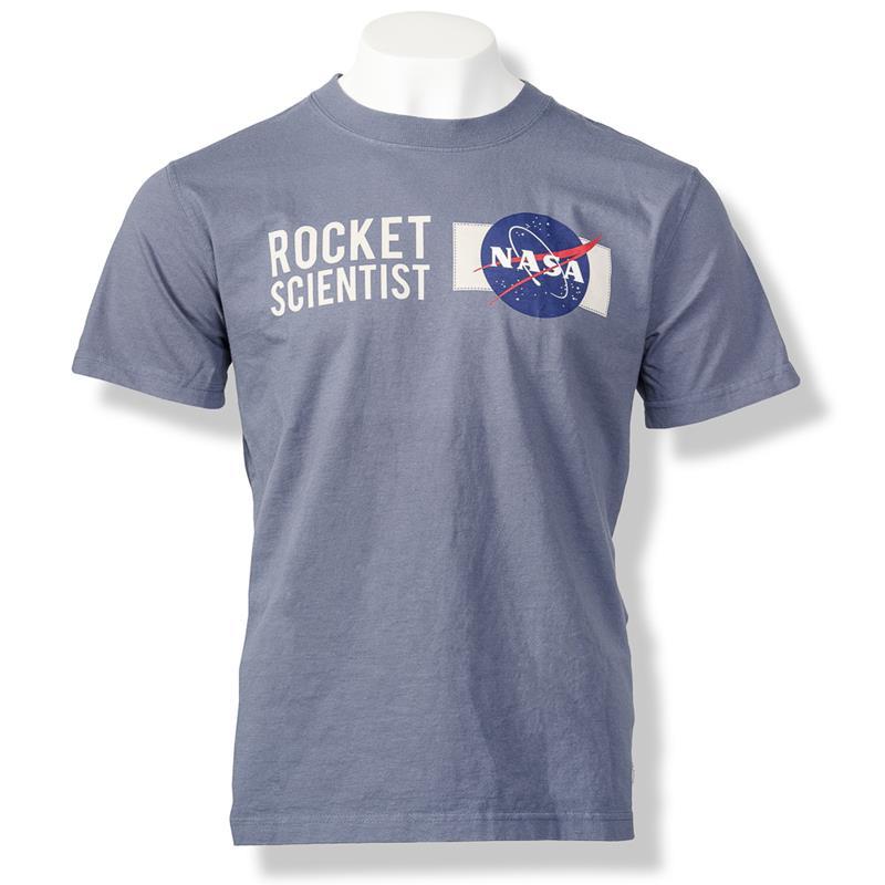 NASA Rocket Scientist Tshirt,NASA,M-SST-NASA-US-WB-SM
