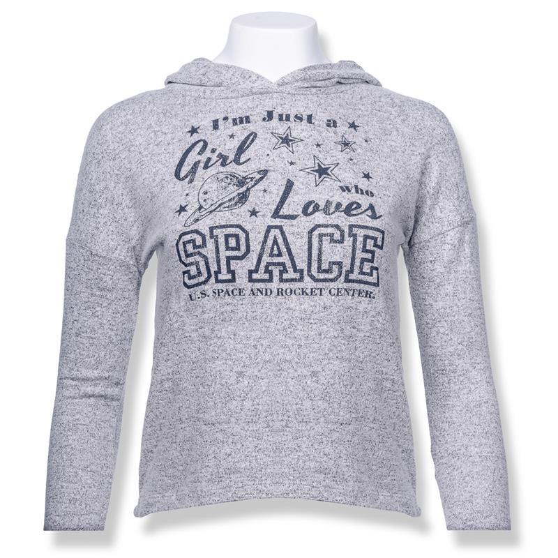 Girls Love Space Youth Hoodie,23579/Y622SNP