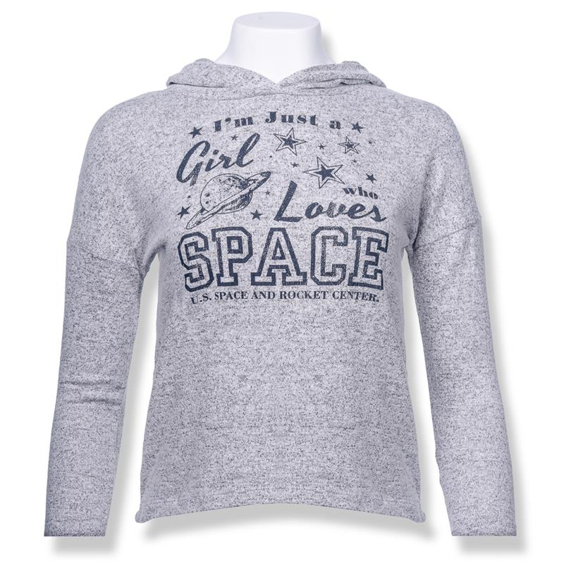 Girls Love Space Youth Hoodie,23579/Y622SNP