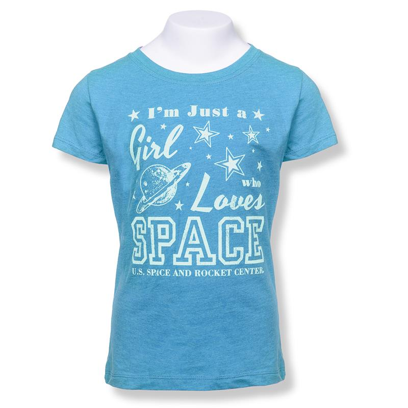 Girls Love Space Youth T-shirt,23579/Y052BAB