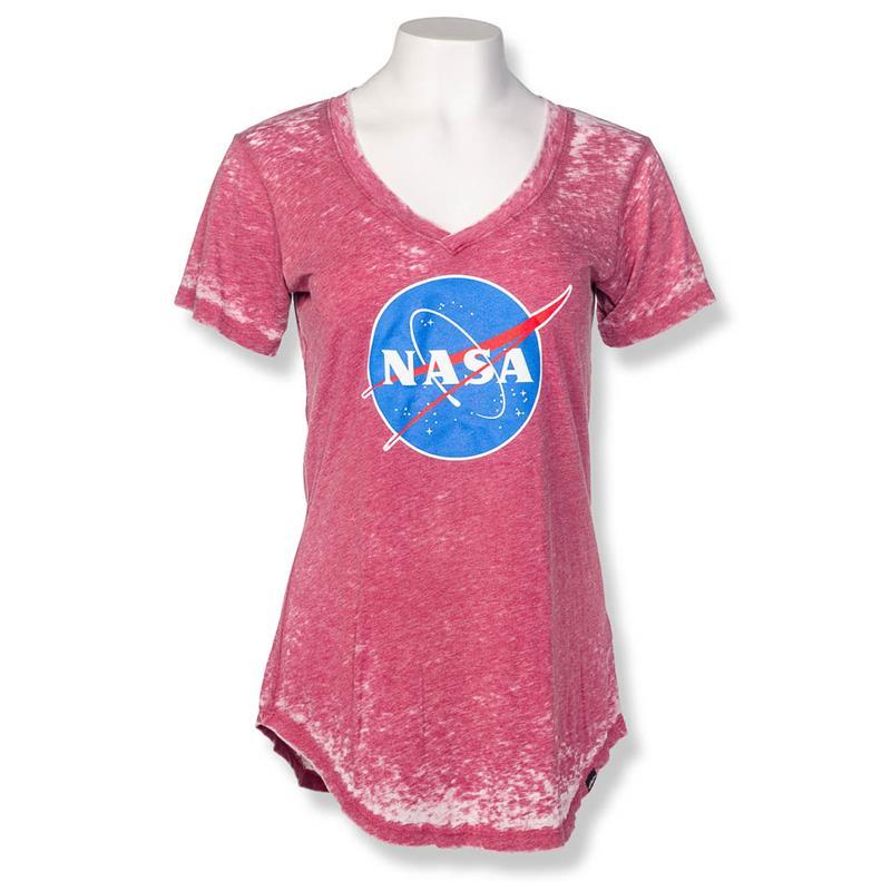 Meatball V-neck T-shirt,NASA,17961/A042BOR