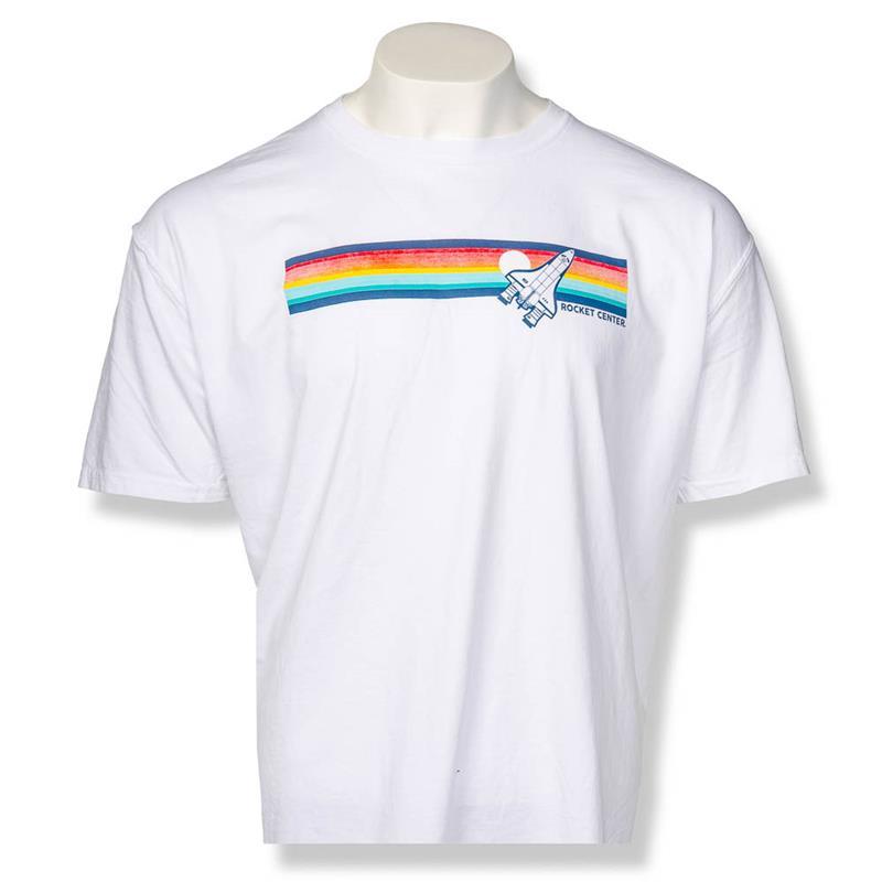 Pop It Rocket Center Explorer T-shirt,ROCKET CENTER,19874/A094WHI