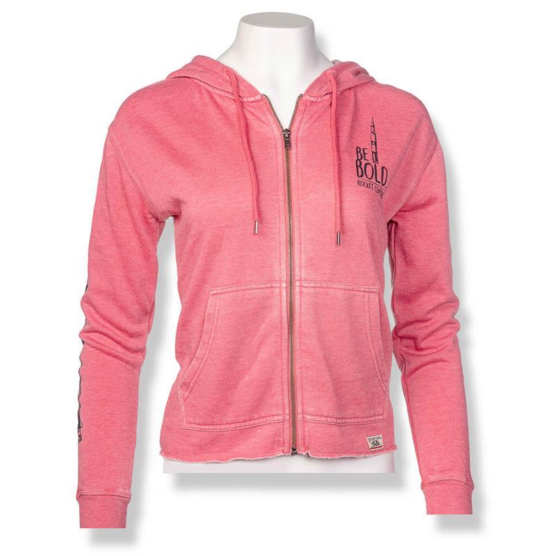 Be Bold Weathered Zip Jacket,21083/A615WAT