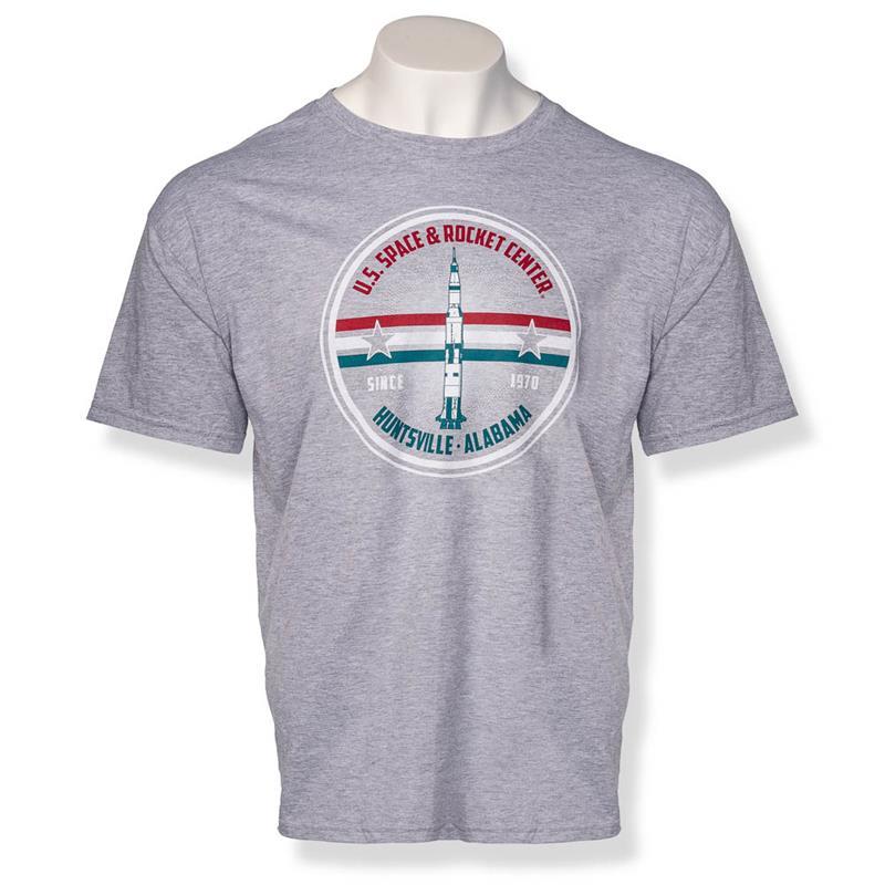 Saturn V Aye Captain T-shirt,23599/C008HEA