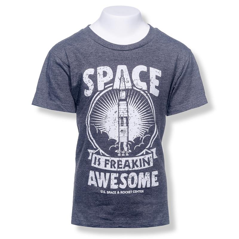 Space is Freakin Awesome Youth T-shirt,2200Y/5848