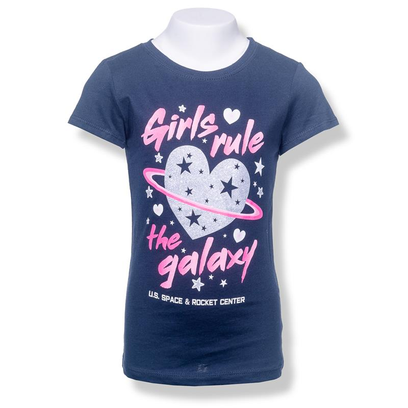 Girls Rule the Galaxy Youth T-shirt,3712/5324