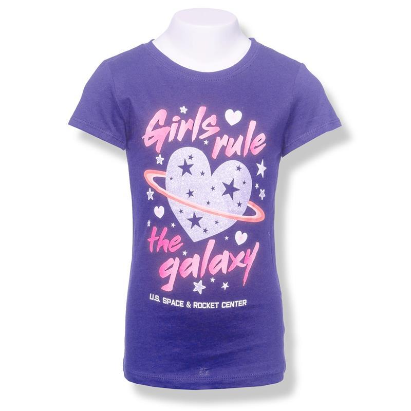 Girls Rule the Galaxy Youth T-shirt,3712/5324