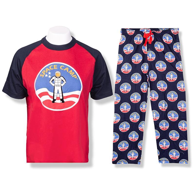 Space Camp Crew Neck Pajama Set,SPACECAMP
