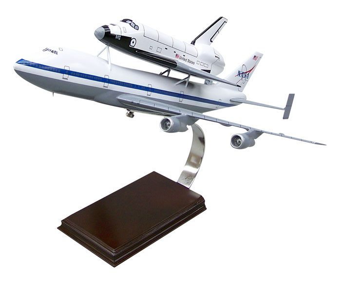 B747 w/Shuttle 1/200 Discovery,MODELS,E0820