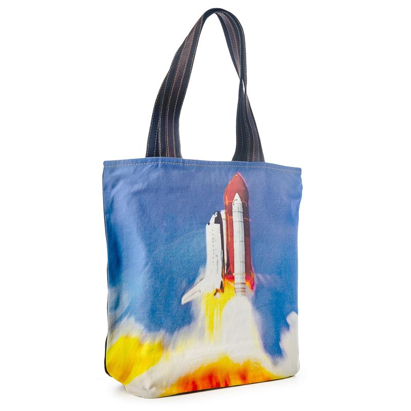 Space Shuttle Tote Size Bag,7339