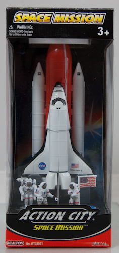 Space Shuttle with Astronauts,RT38921