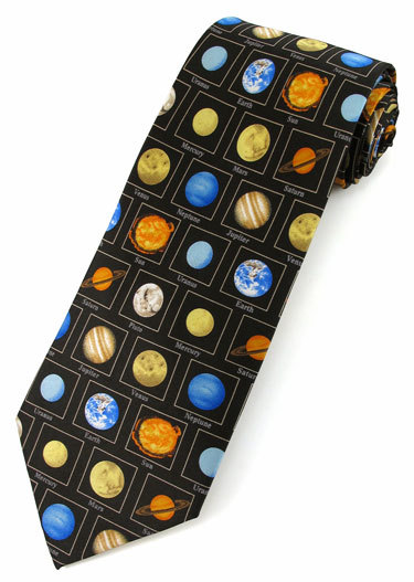 Planets with Names Tie,2105